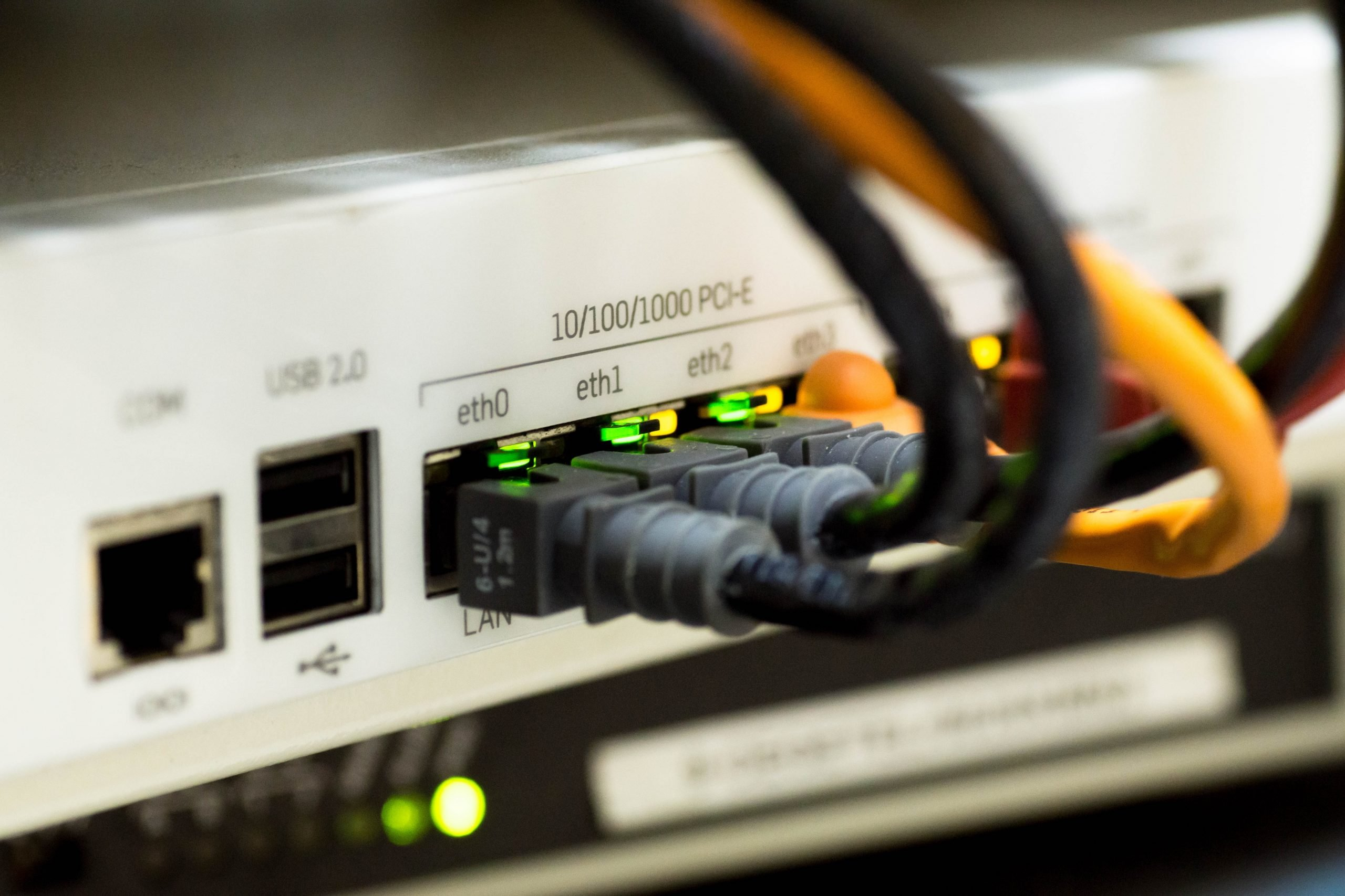 Network Structure Cabling